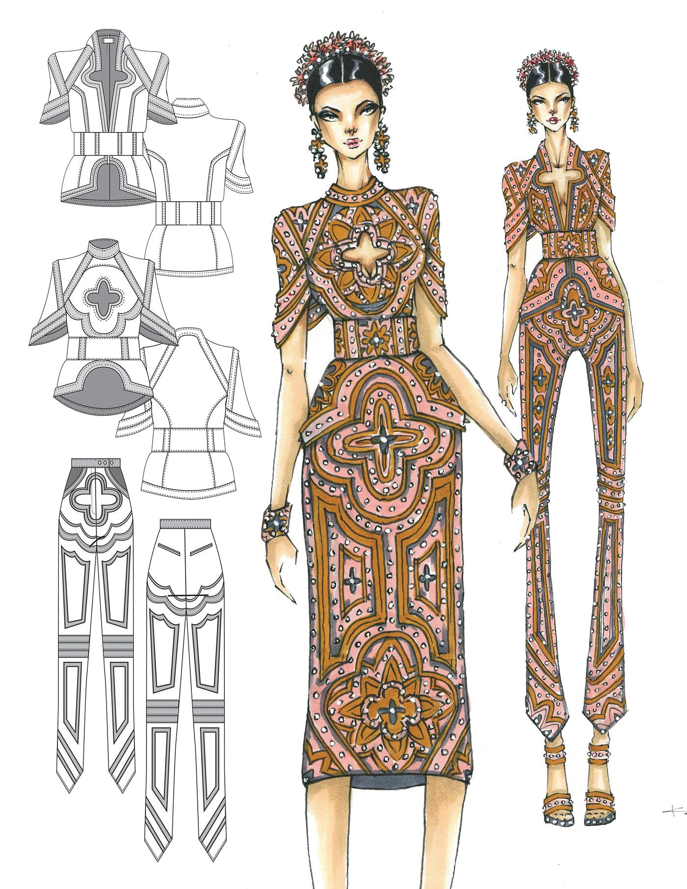 優秀的35張衣服設計圖欣賞
