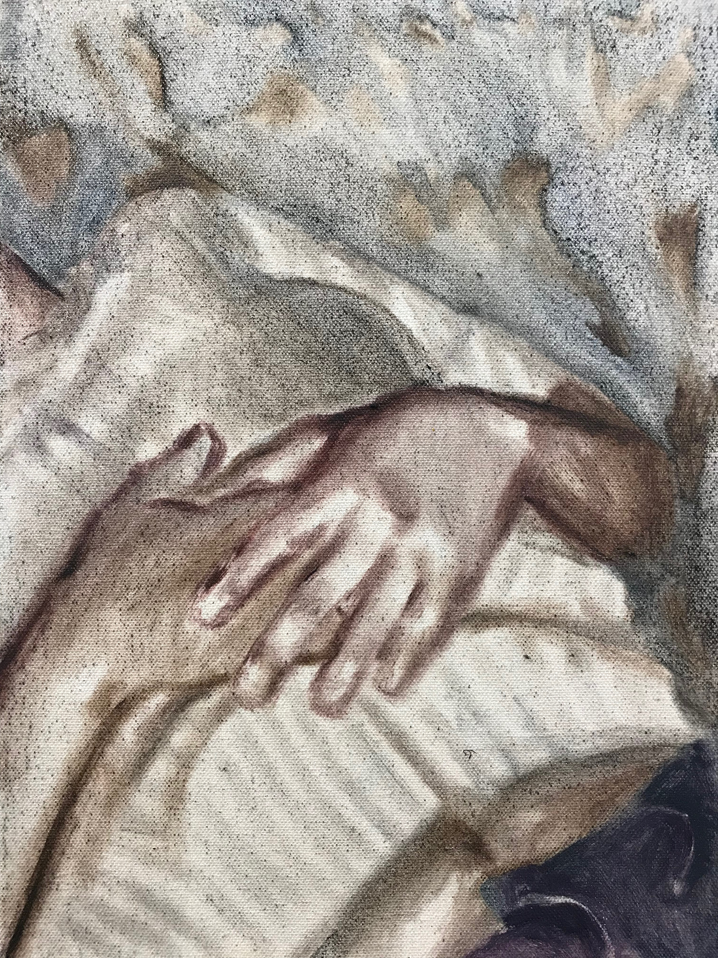 painting   Oil Painting hands