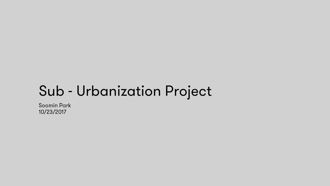 sub urbanization psa on behance