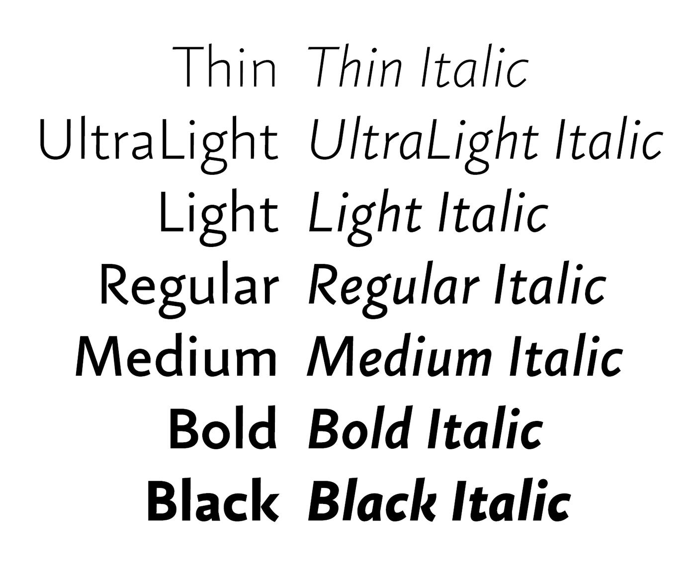 Typeface sans adtypo font Ligatures typography   clean Sharp type typedesign