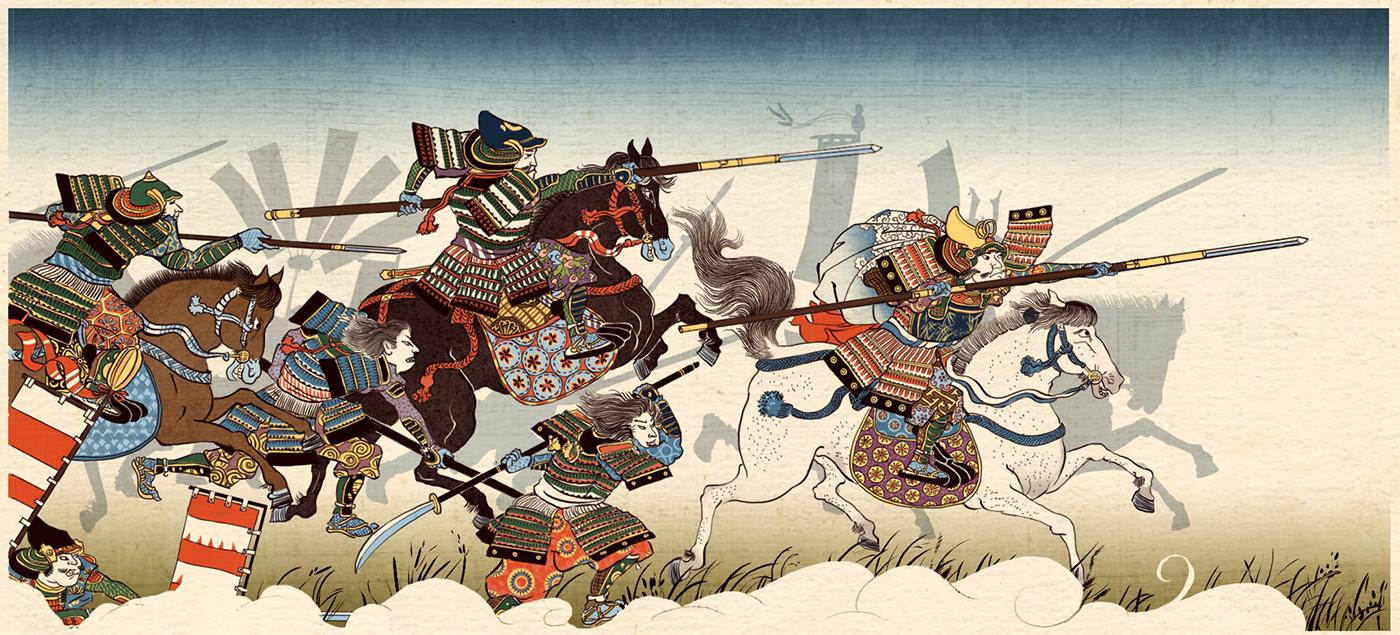shogun 2 - total war on behance