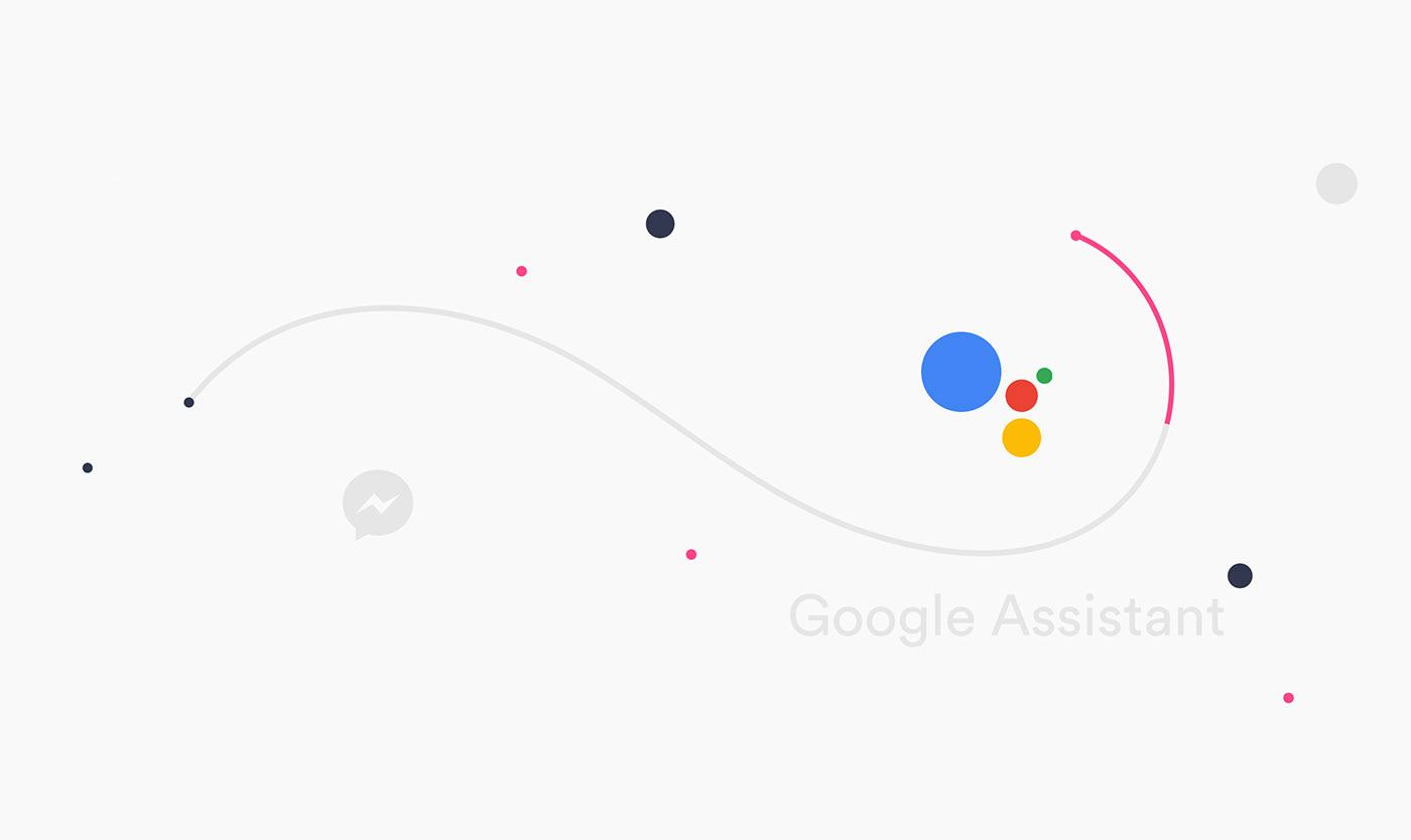 bot user prototype motion animation  baloon illo emotion talk color