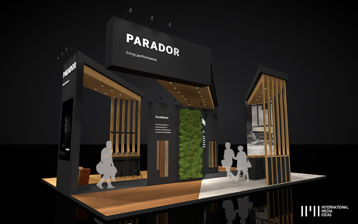 Exhibition Stand Behance : Parador exhibition stand on behance