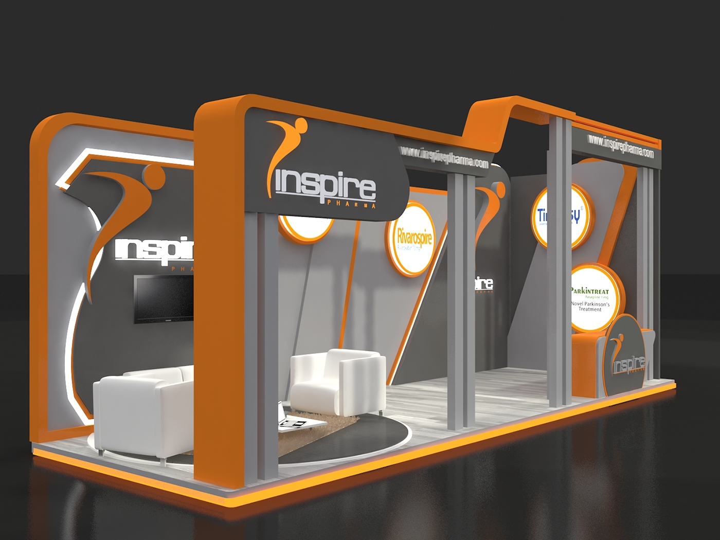 Inspire Booth on Behance