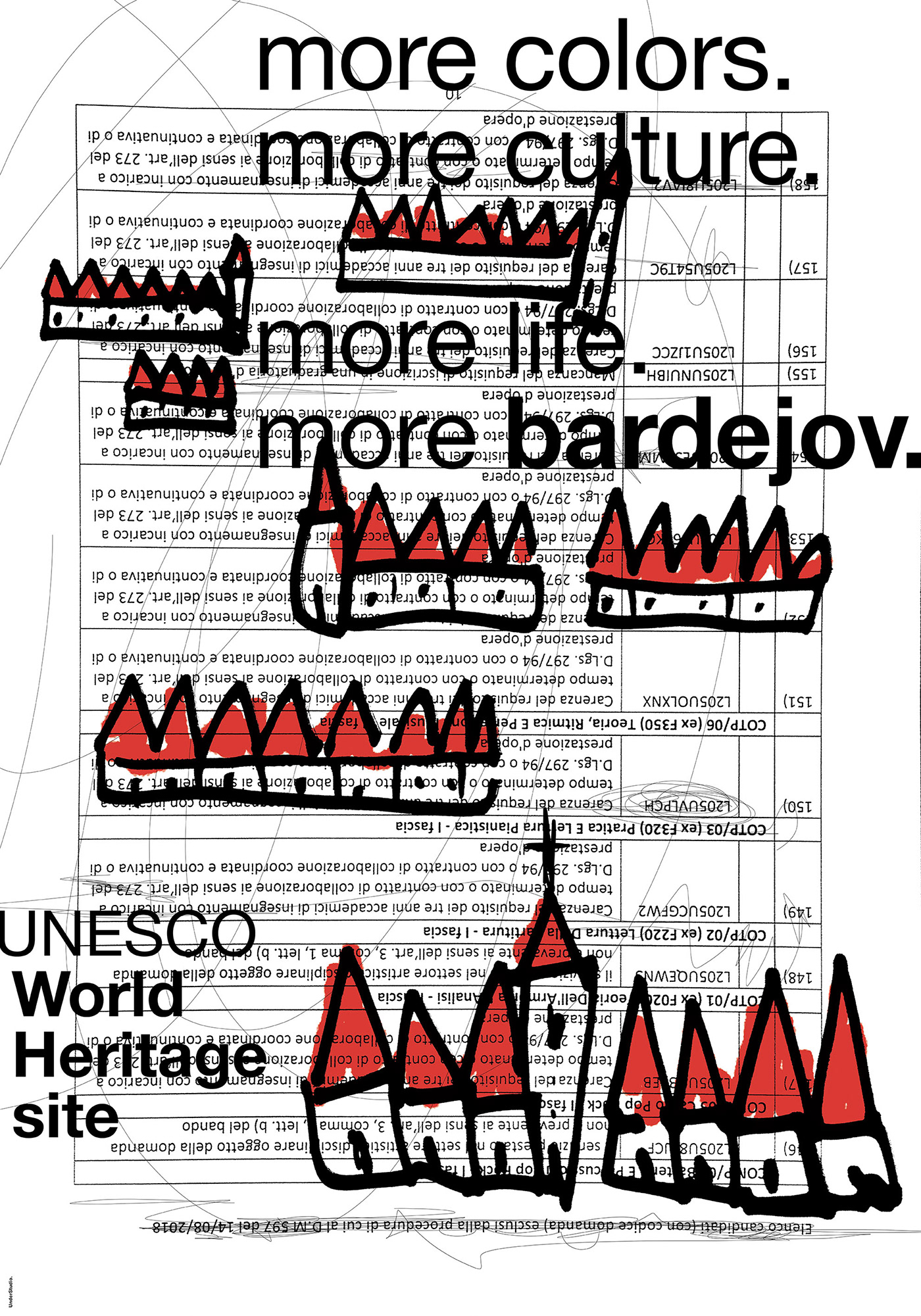 City of Bardejov Bardejov poster Exhibition  Slovacchia Francesco Mazzenga