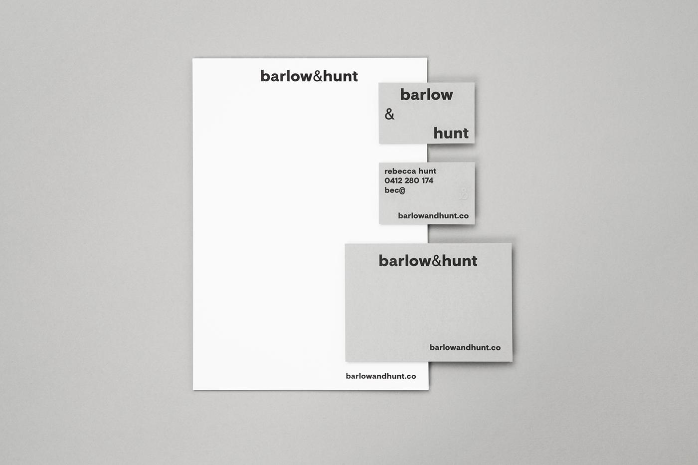 grey Responsive minimal letterpress