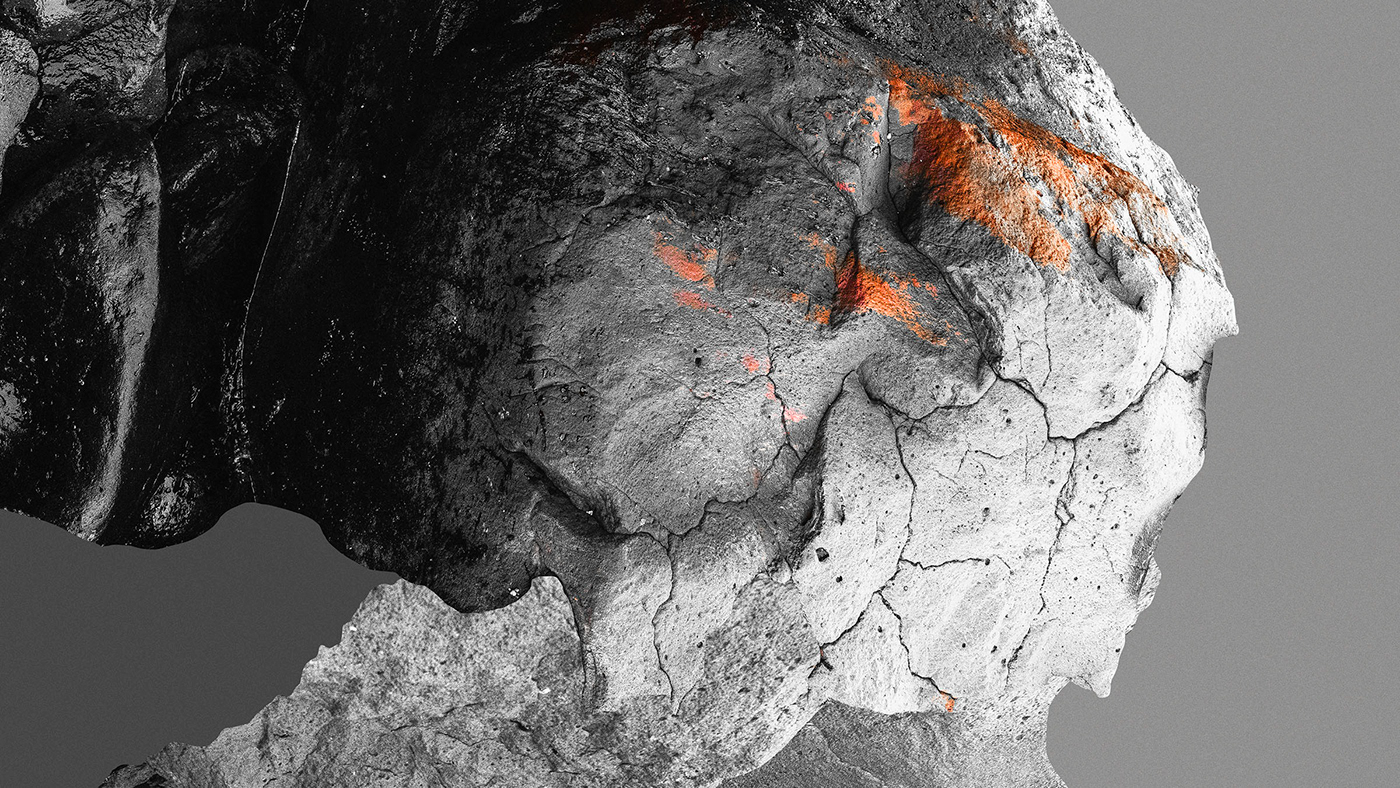 iceland lava lavastract Sig Vicious Siggeir abstract