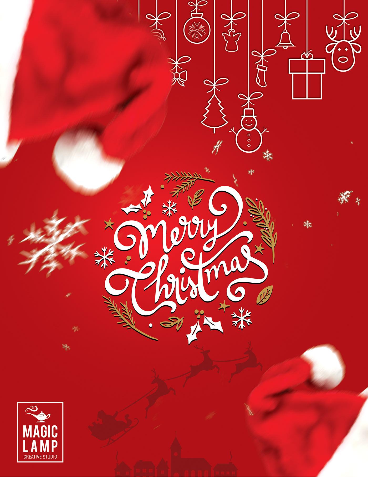 高質量的23款聖誕節海報欣賞