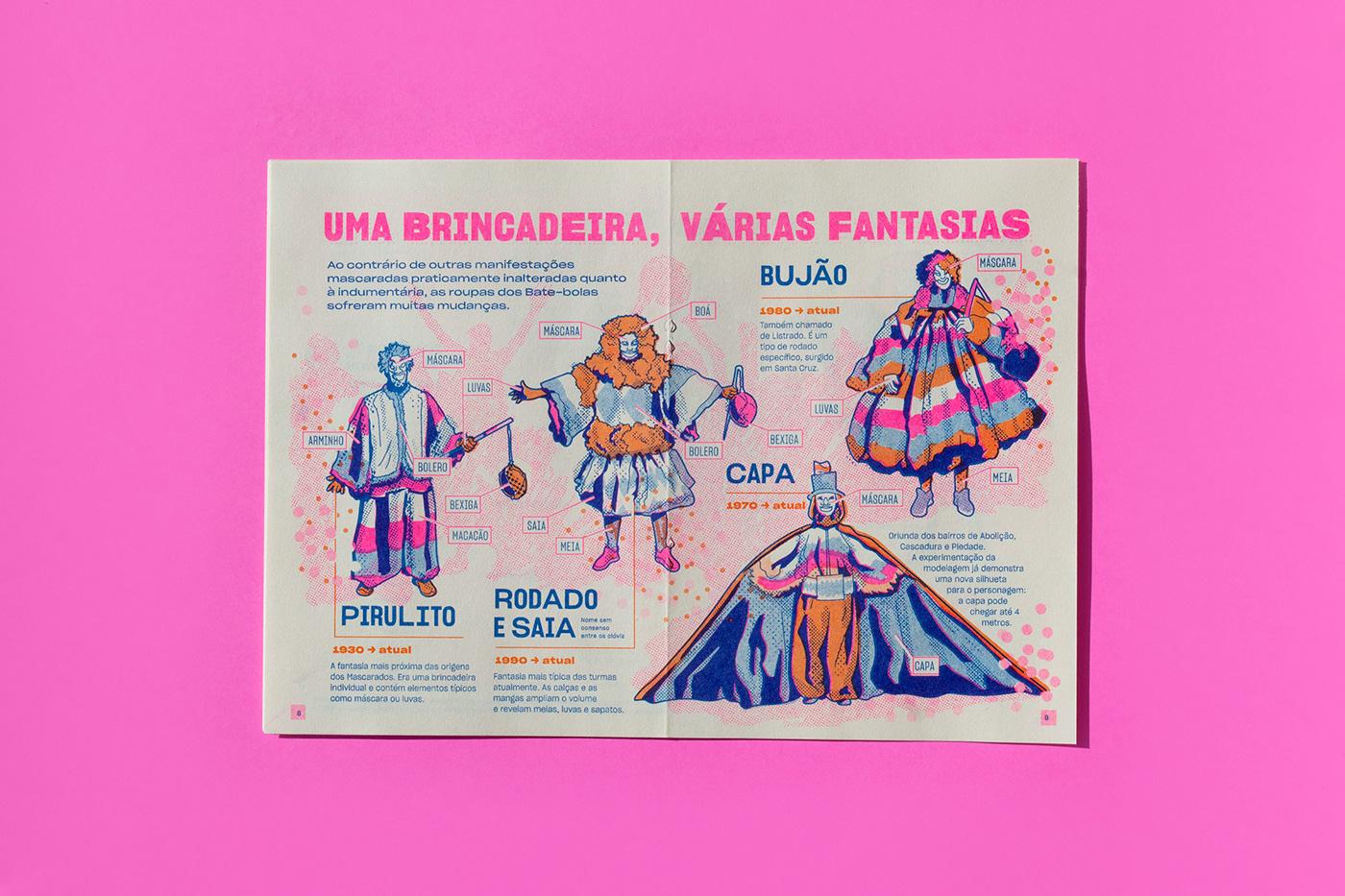 bate-bola Brasil Brazil carioca Carnaval Carnival Rio de Janeiro Riso risograph subúrbio