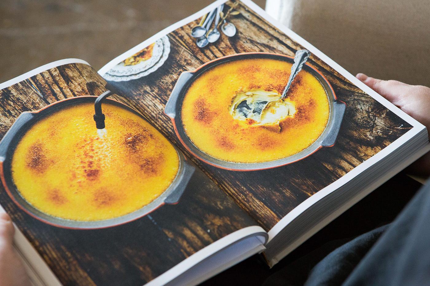 cookbook cuisine editorial design  Food  livre