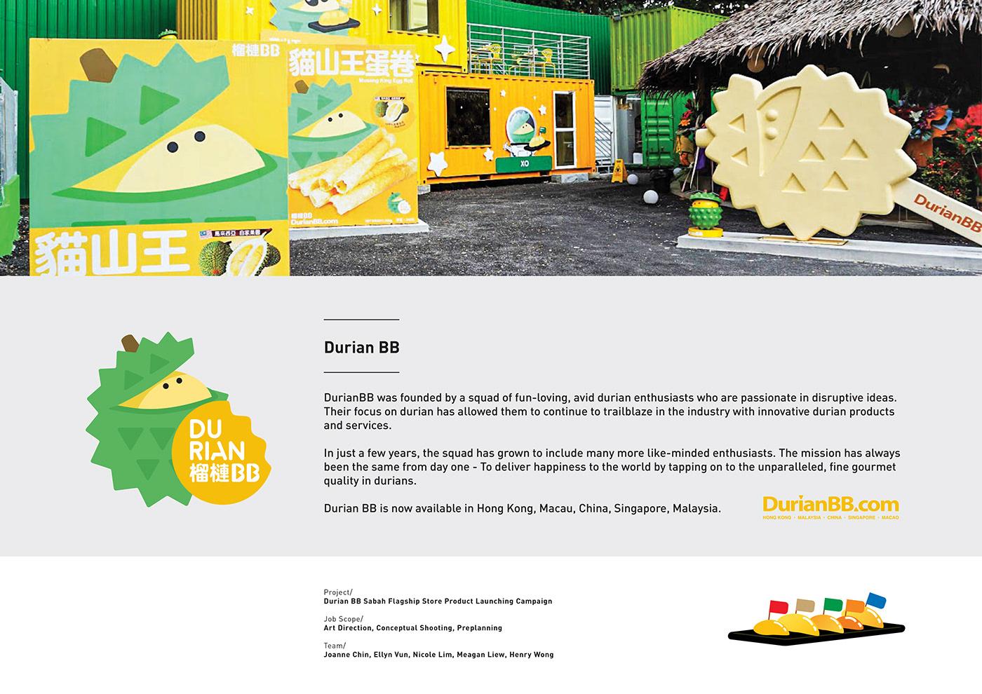 Durian BB Conceptual Shooting on Behance