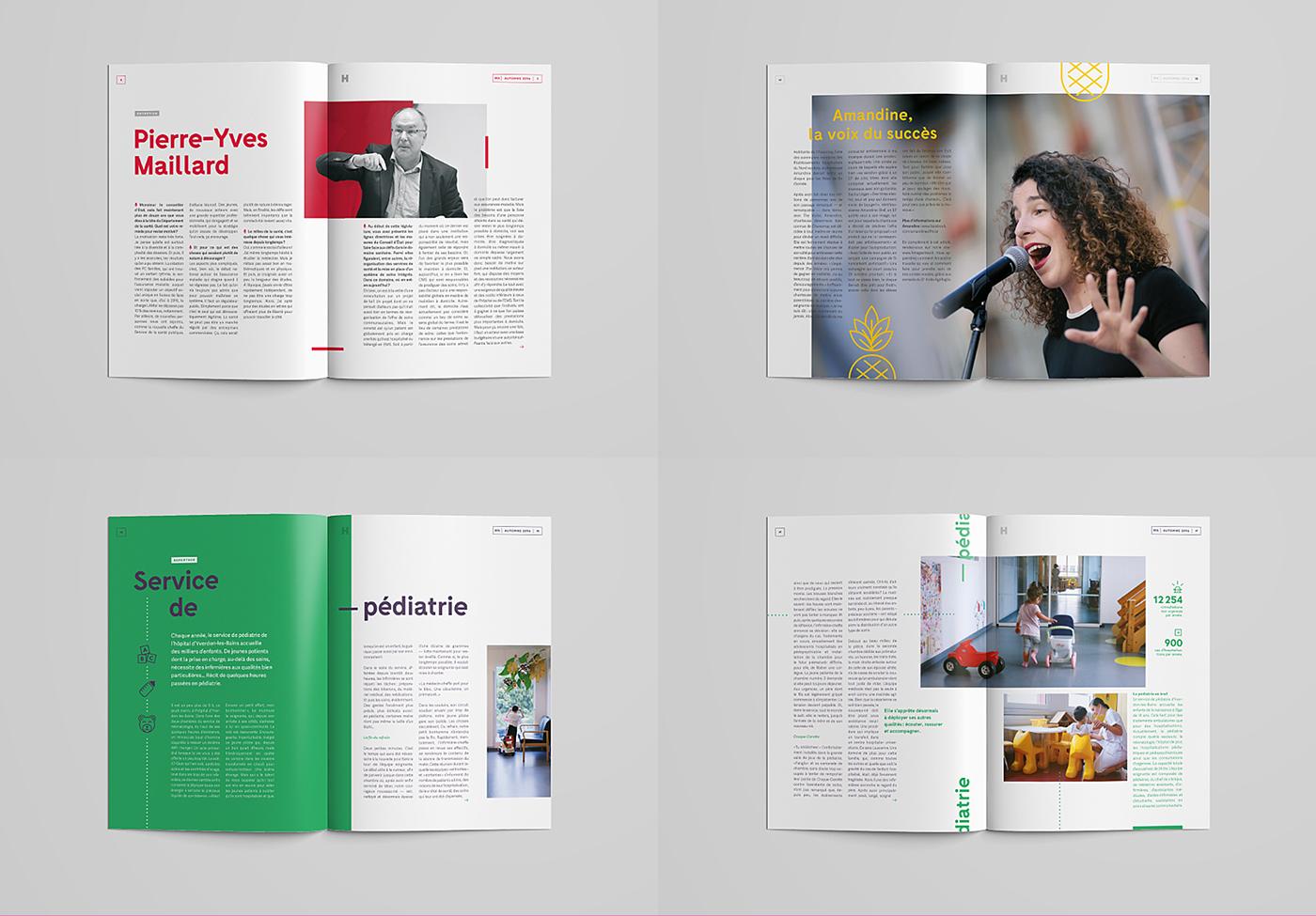 magazine ILLUSTRATION  hospital print journal