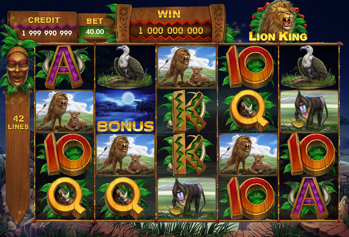 Lion King Slot Machine