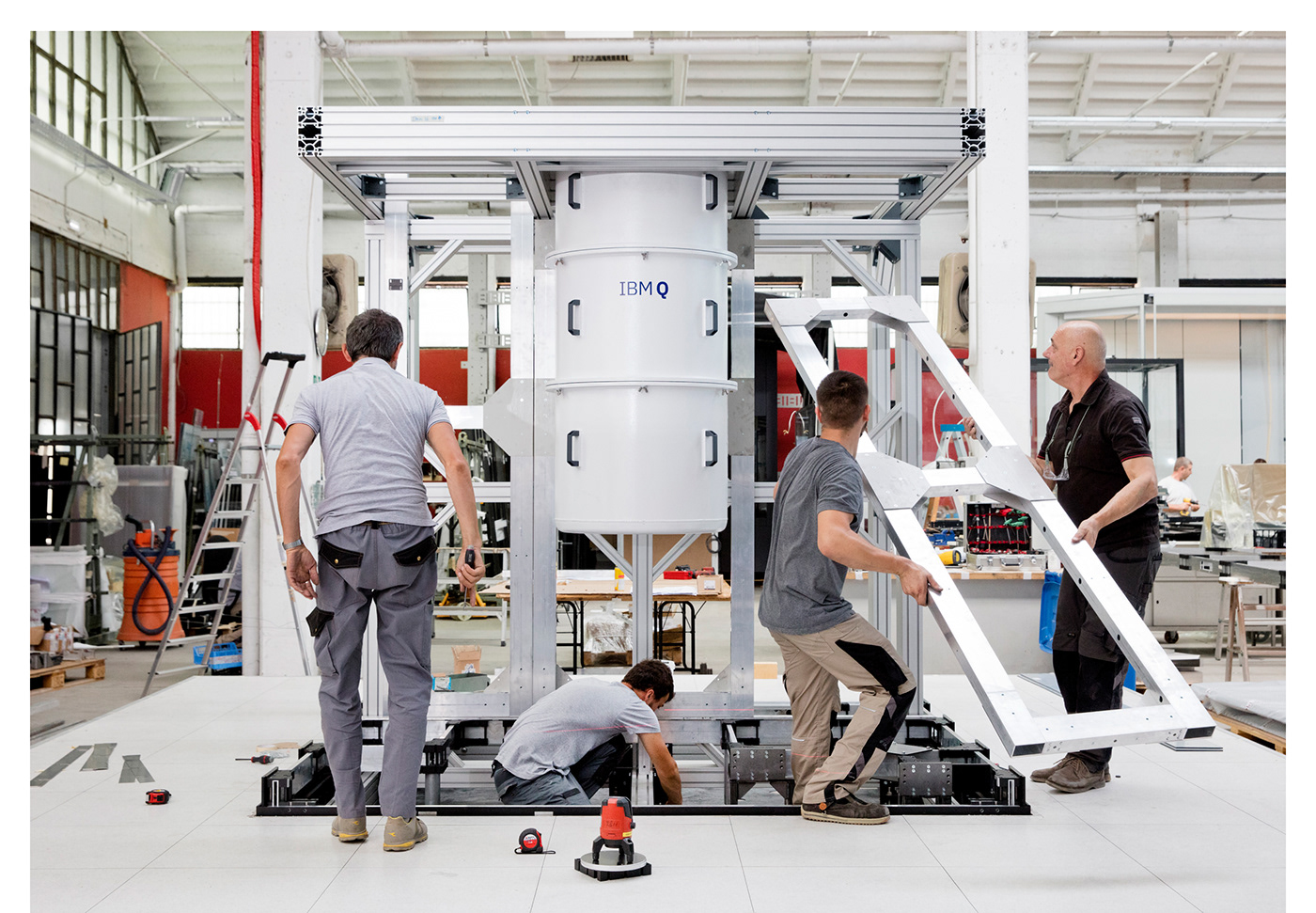 computing IBM industrial design  quantum