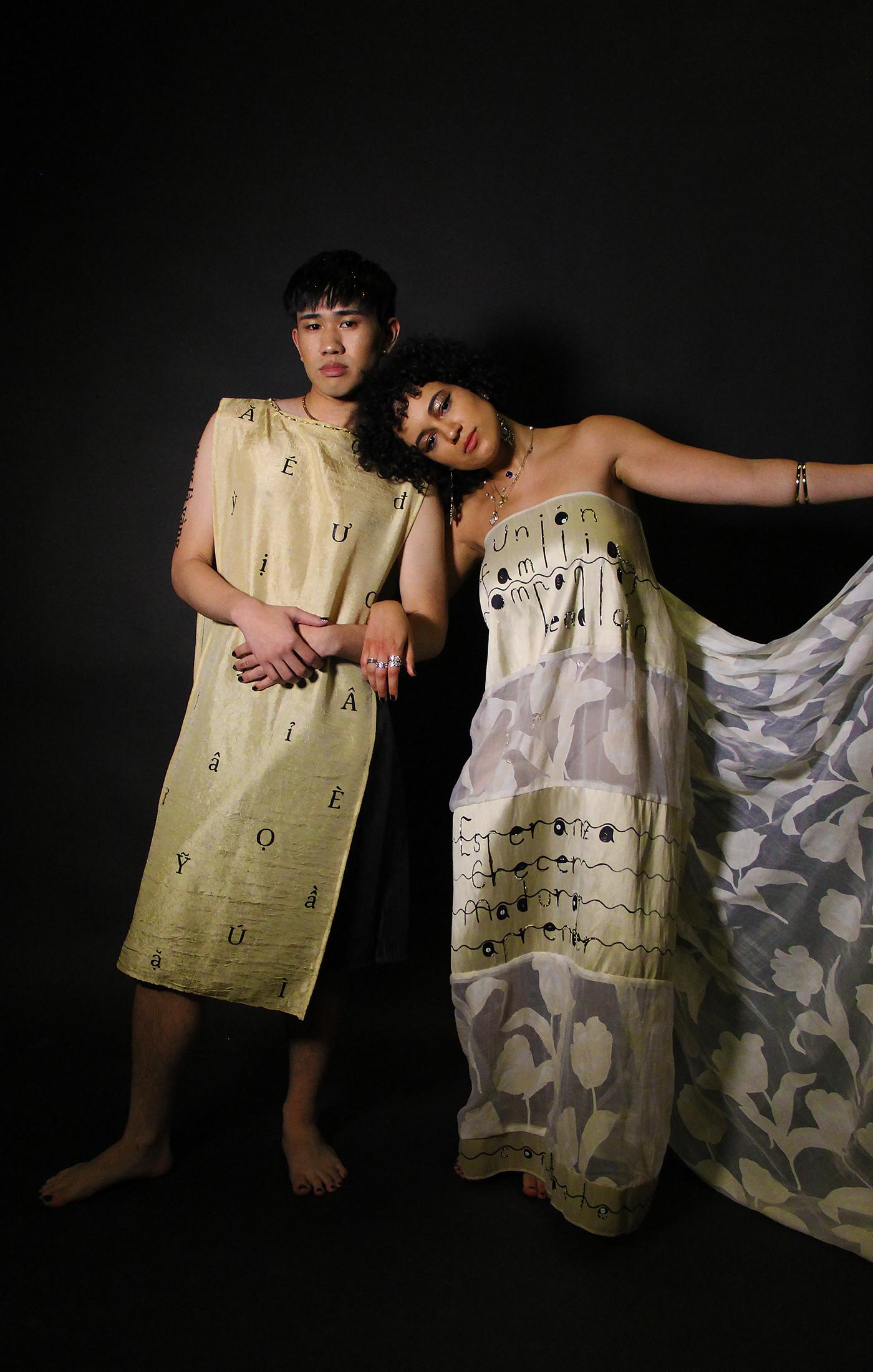 Fashion  fashion design typography   Calligraphy   language translation graphic design  Photography  fashion photography adobeawards
