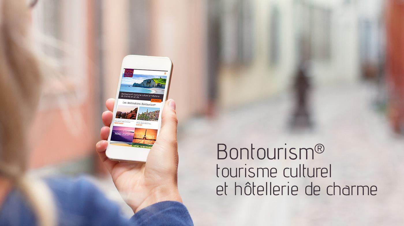 ux UI Website Responsive Design Webdesign graphic design  print flyer Tourisme brochure