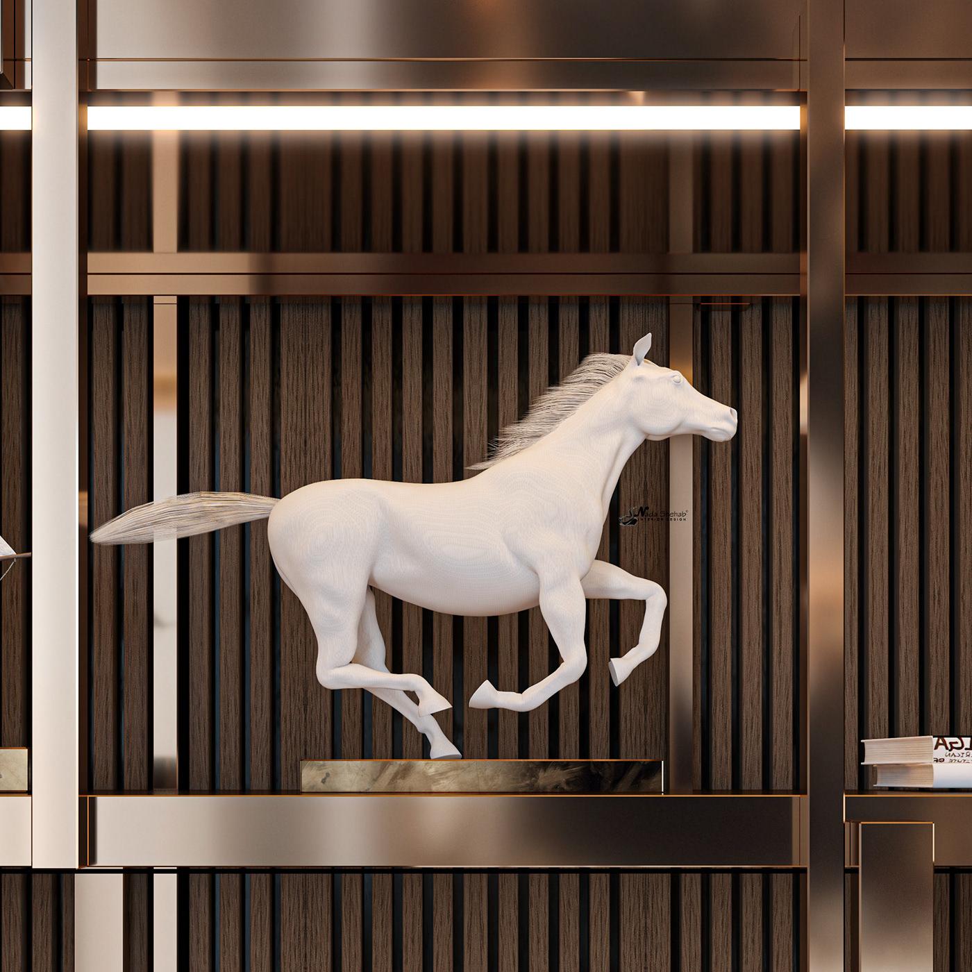 Hình ảnh có thể chứa: ngựa, động vật và trong nhà