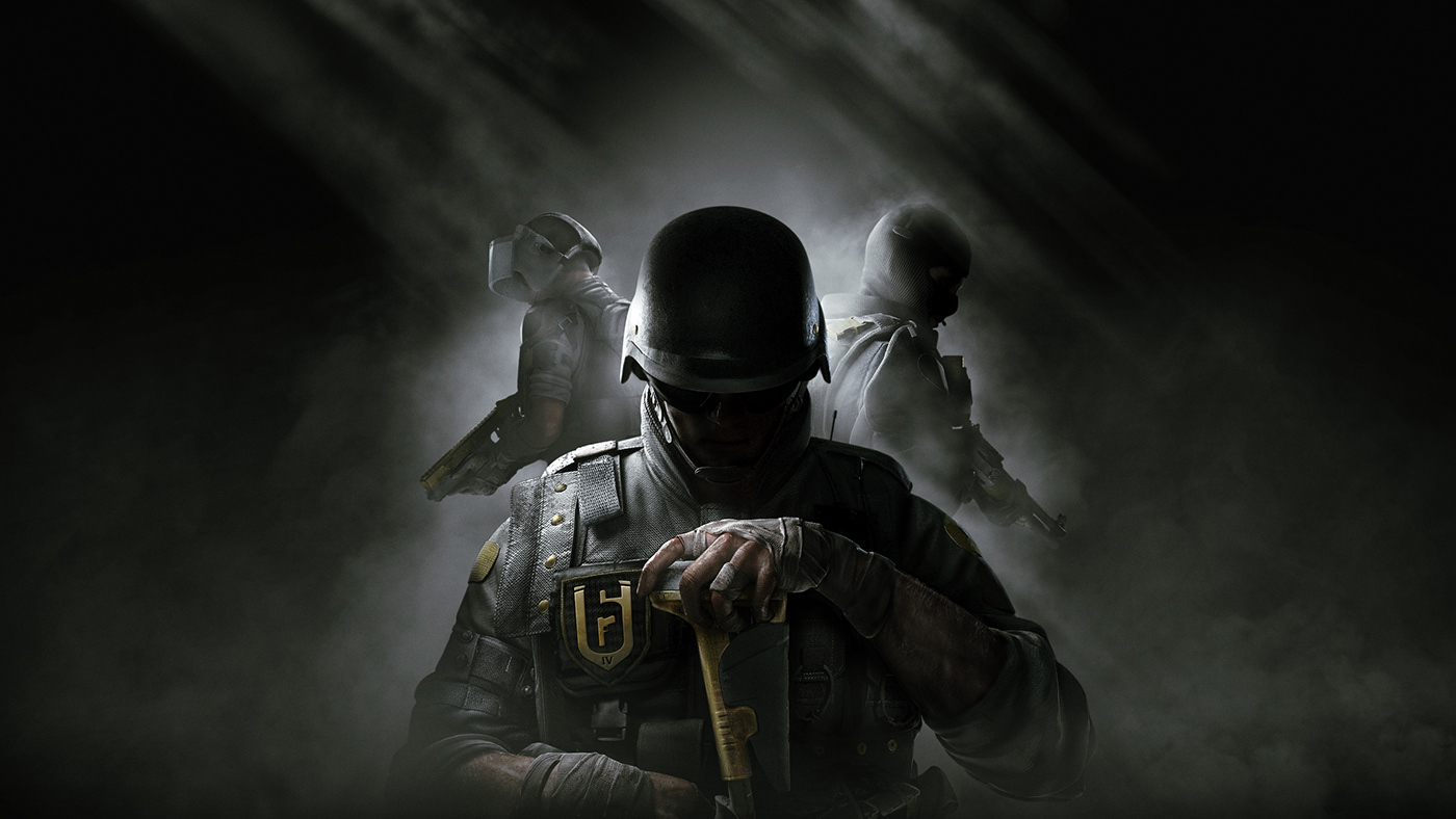 Rainbow Six Siege Season Pass cover video game Operators tactical Shooter Counter-Terrorism  mysterious