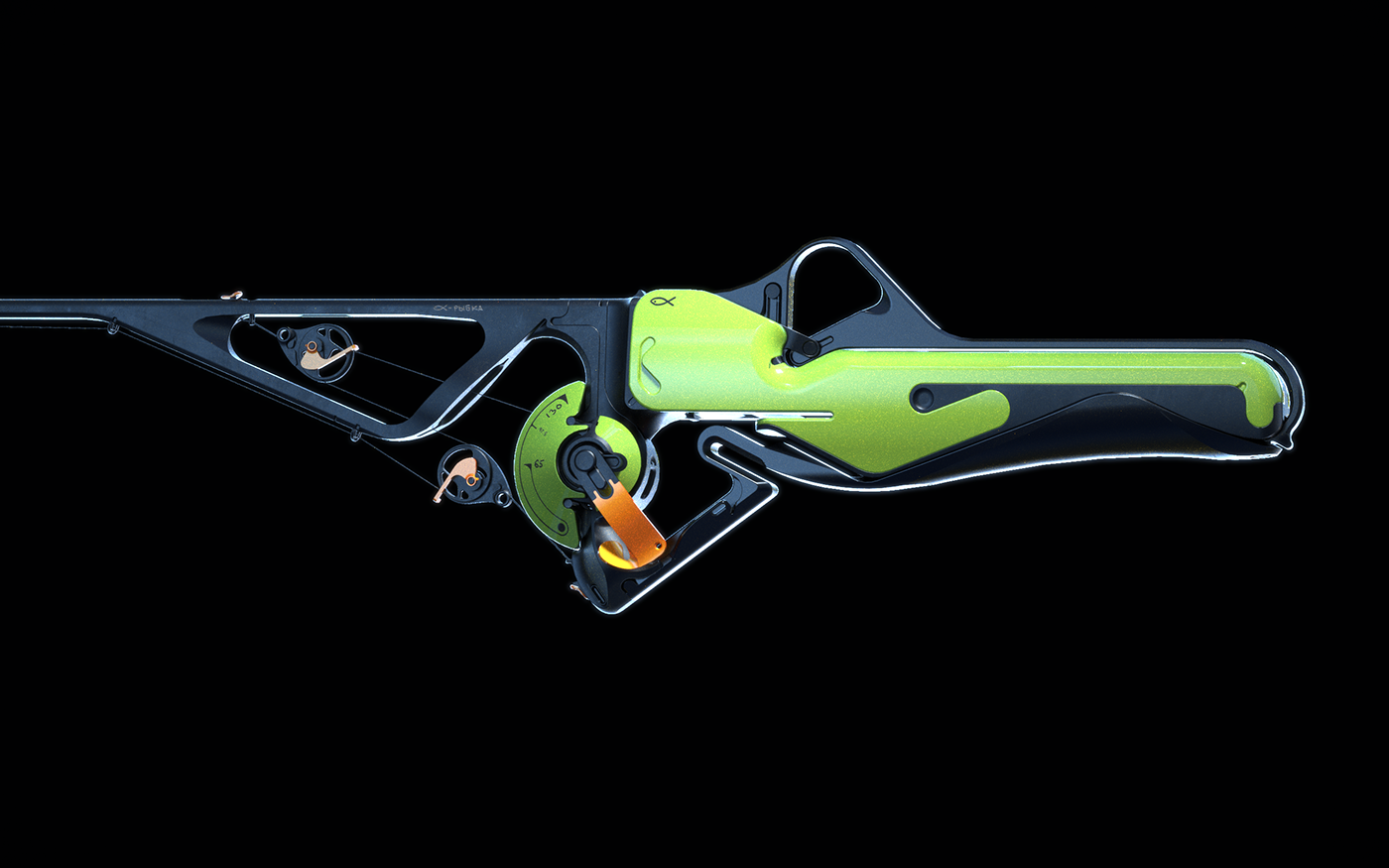 3D concept design Fusion360 game product Weapon