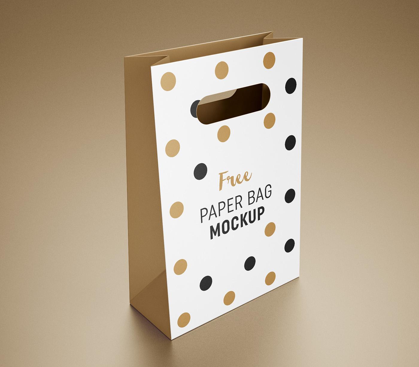 Free Gift Bag Mockup On Behance