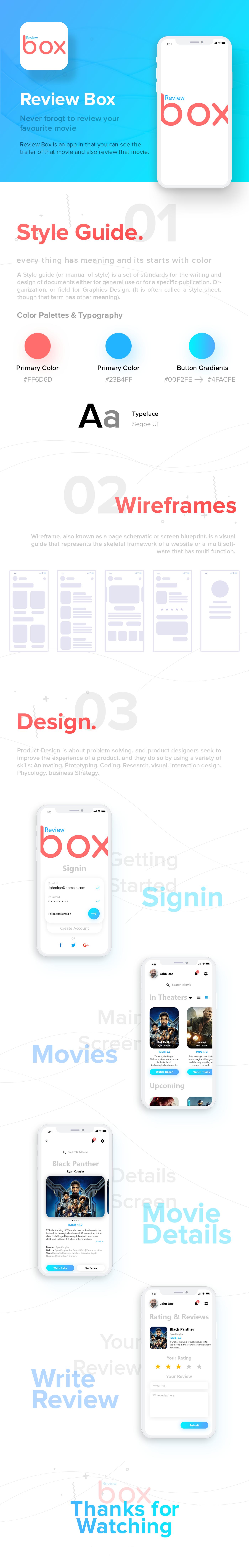 ui design app design UI ux movie iphone android