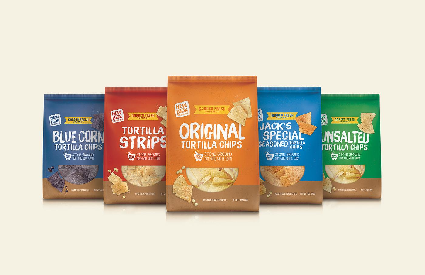 rebrand and packaging design for garden fresh gourmet americas 1 refrigerated salsa brand designed at chase design group - Garden Fresh Gourmet