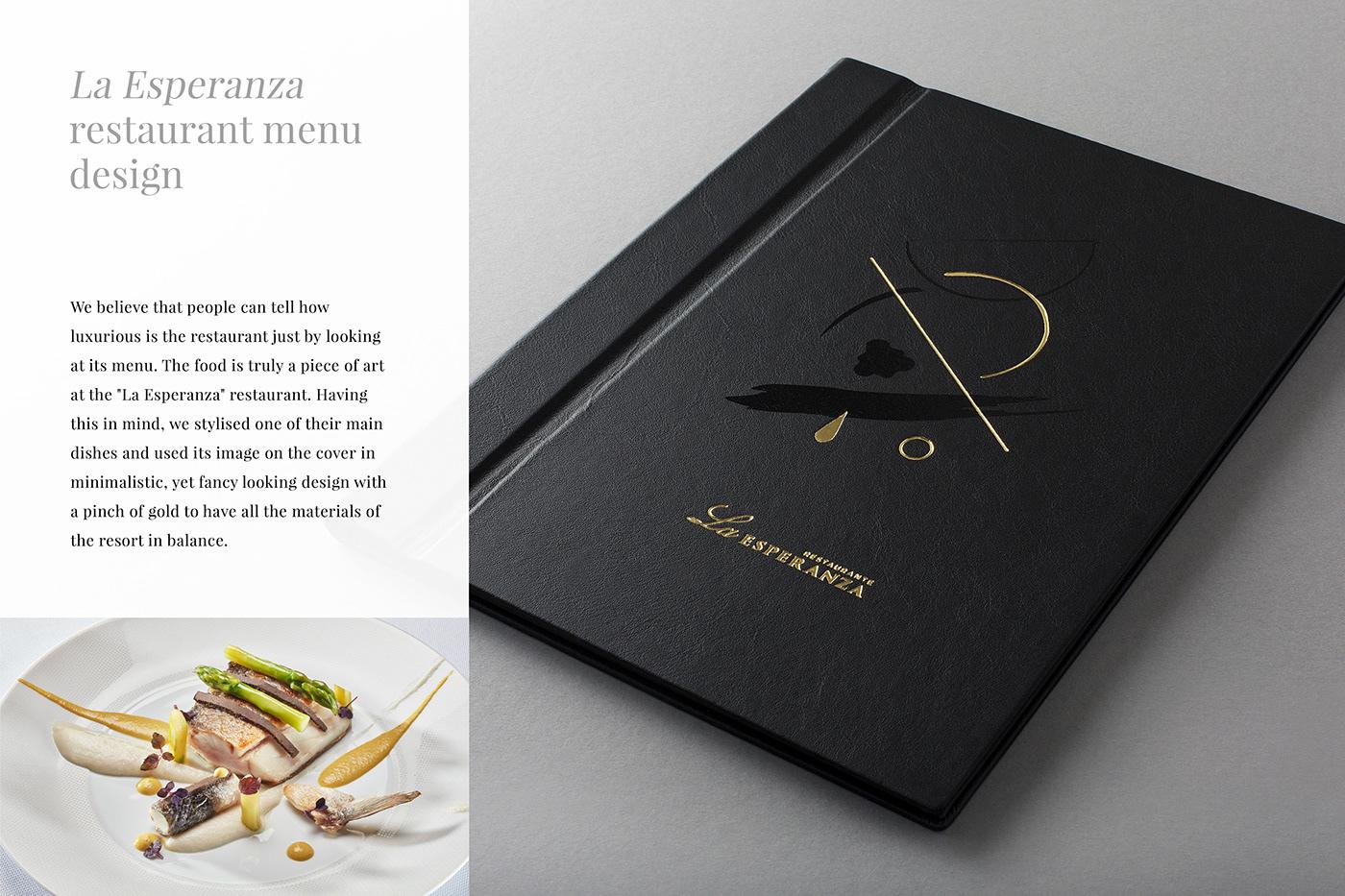 Restaurant La Esperanza Menu Design On Behance