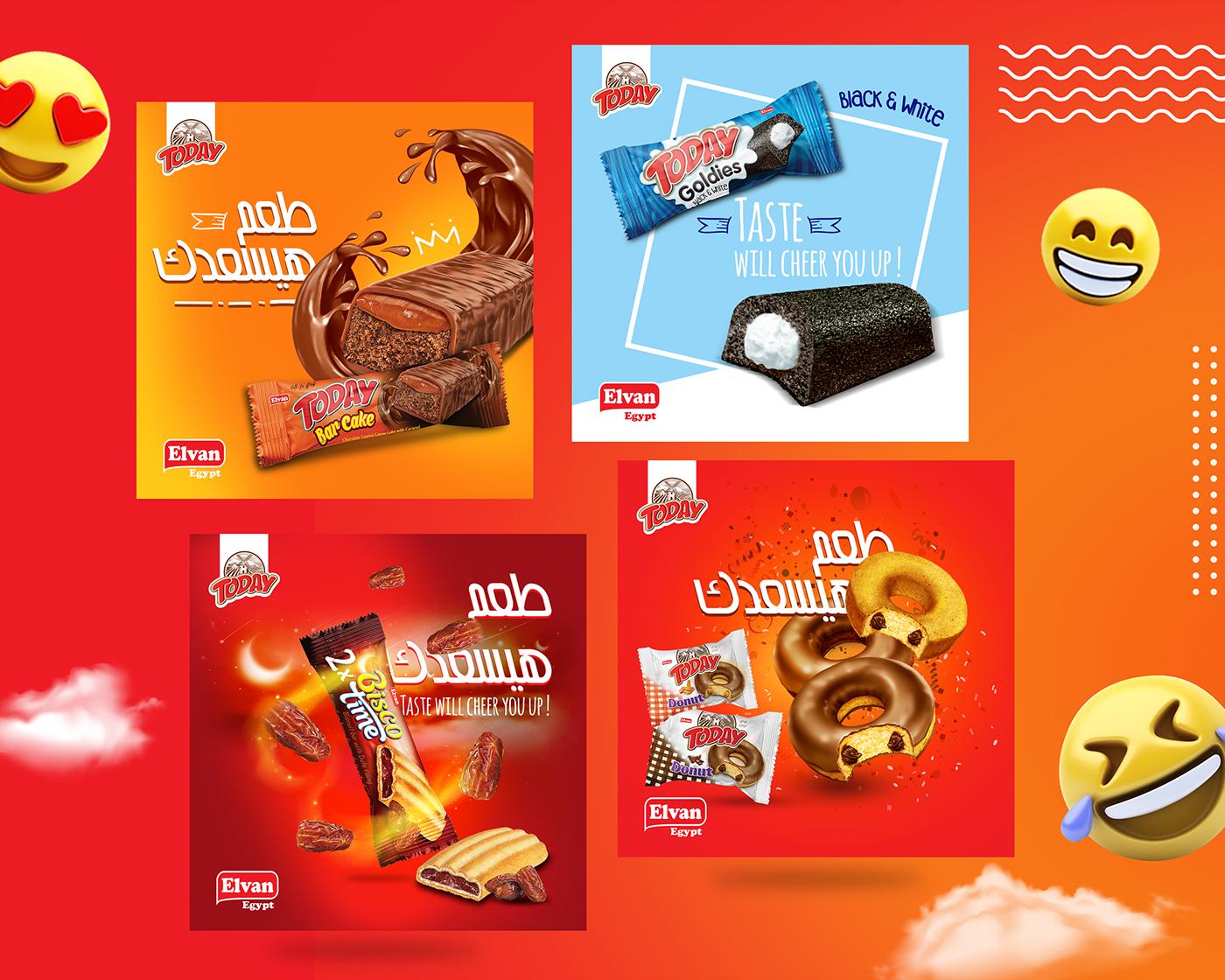 Elvan Egypt Social Media Design Official Website On Behance