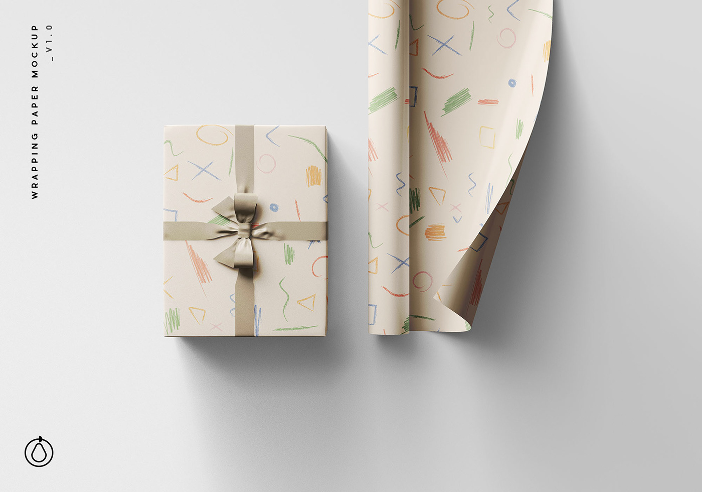 Wrapping Paper Mockup On Behance
