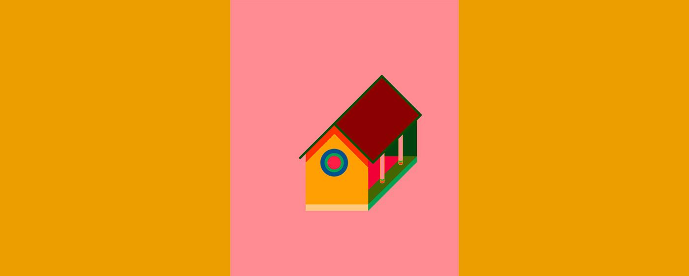art design direction DUSSEB Love time visualize concept modern creative