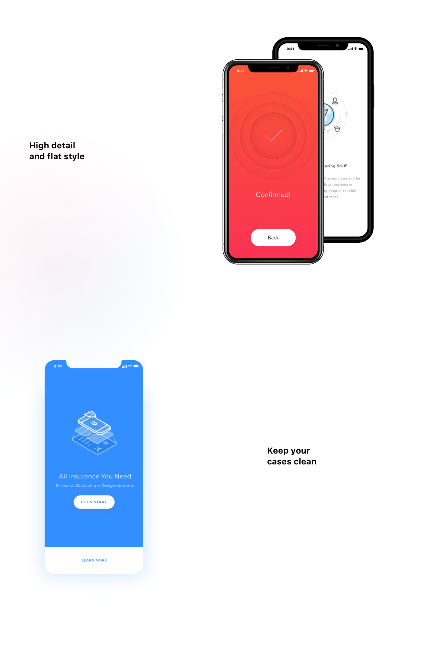 free freebie sketch iphone Mockup iphone 8 smartphone Front View