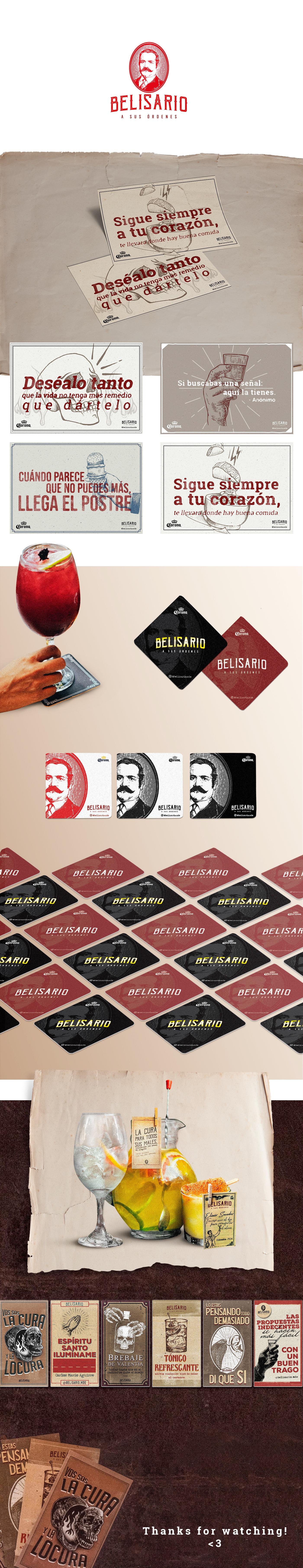 branding  diseño gráfico Food  gastronomic impresos Individuales pop portavasos restaurant restaurante