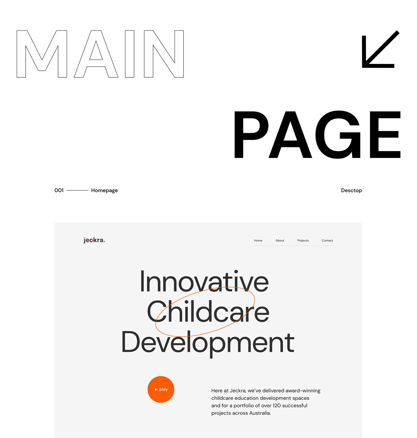 branding  develop Minimalism redesign trends typography   ux/ui Webdesign Website White