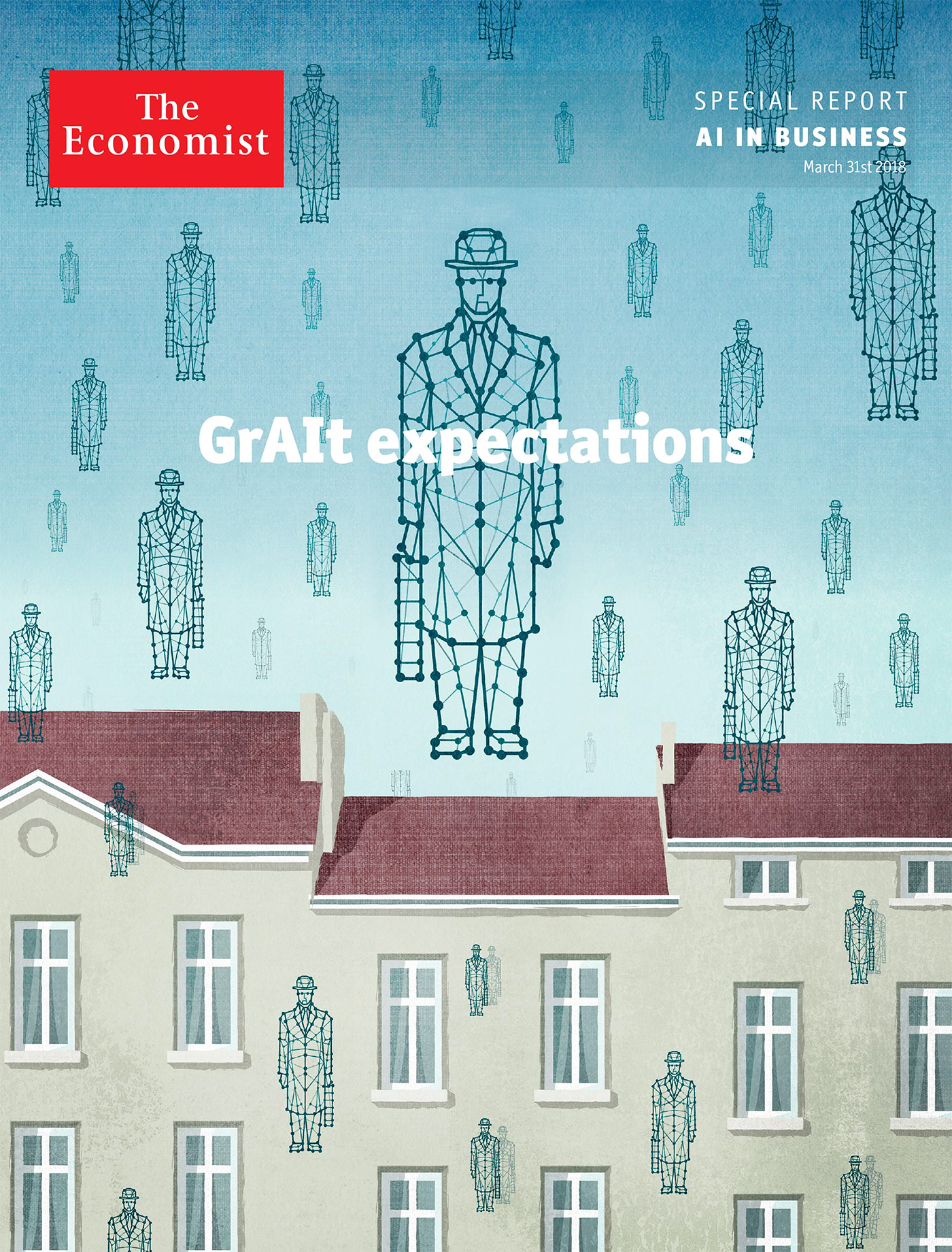 The Economist: AI in business Special Report on Behance