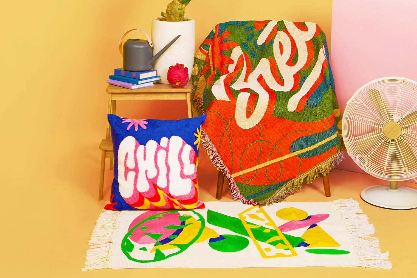 custom merchandise HAND LETTERING home decor home design home pieces lettering Merchandise Design product design