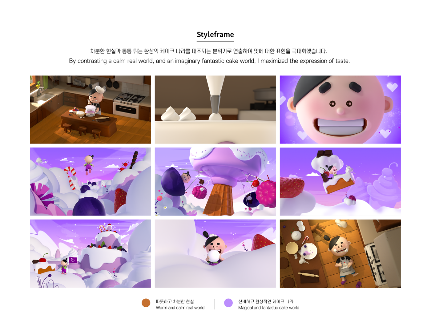 3D 3dcharacter 3dmotiongraphic cake Character fantasy graphic motiongraphic motiongraphics purple