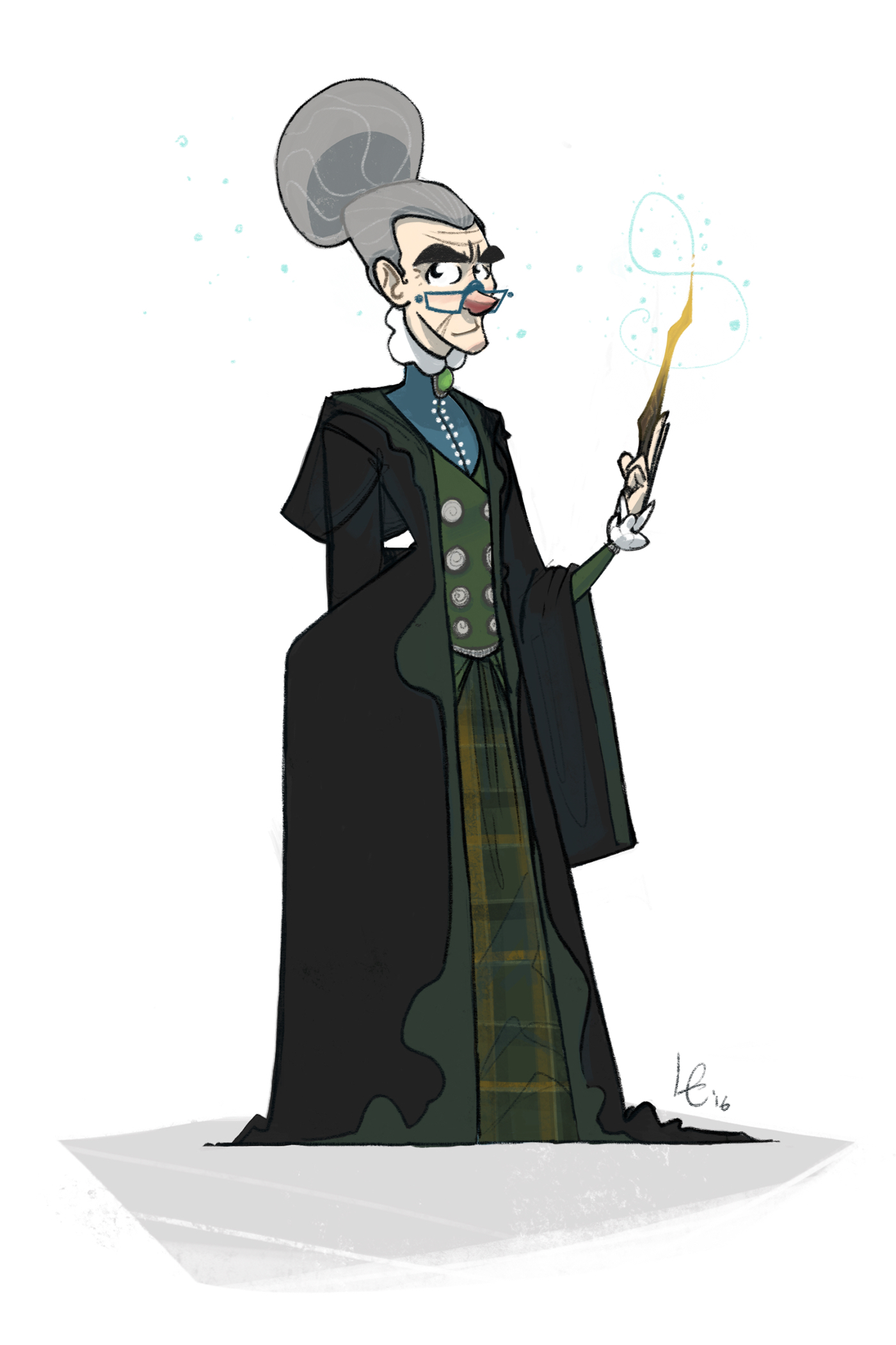 Harry Potter Character Design Challenge Facebook : Harry potter character design challenge on behance