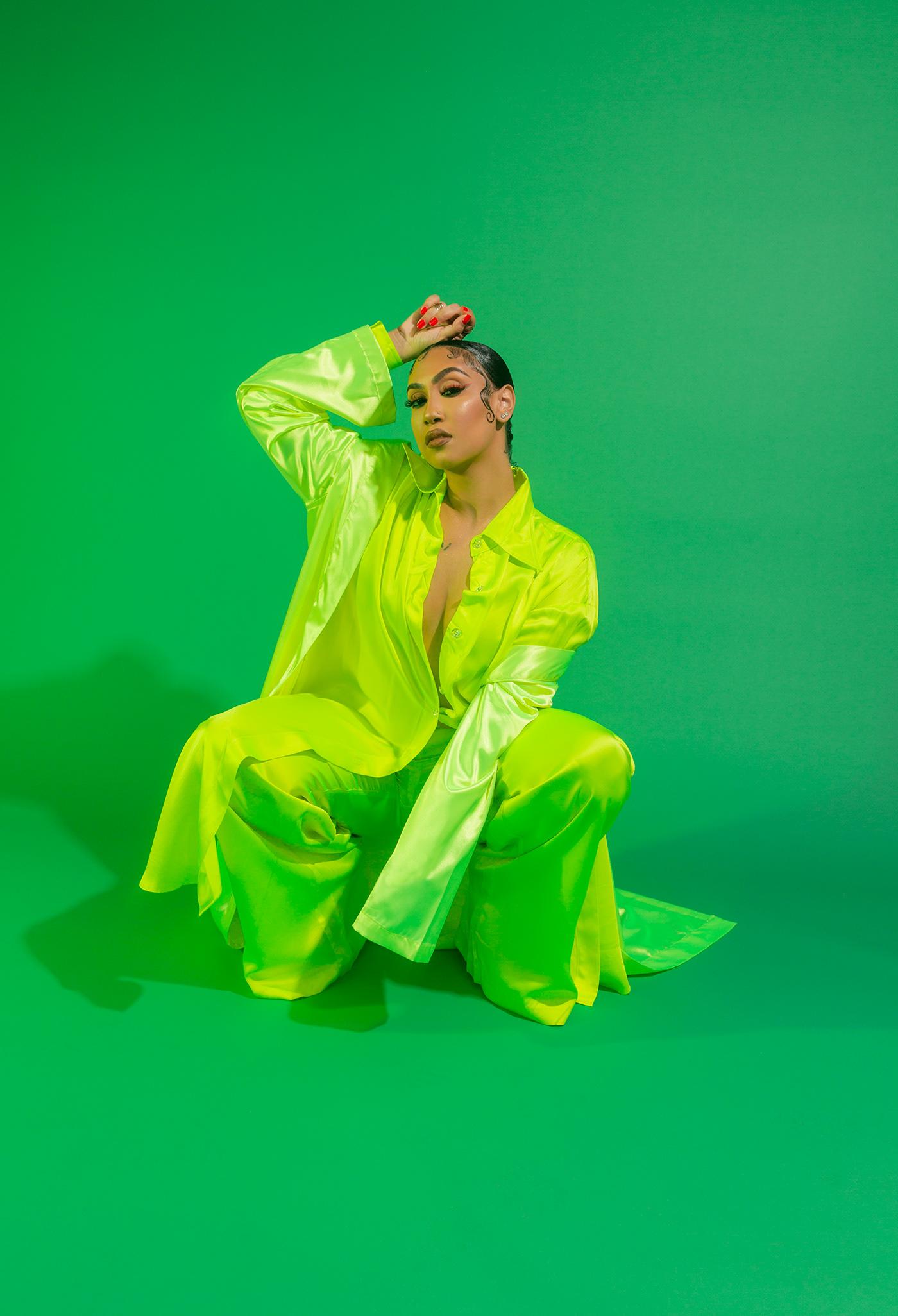 album cover artist capitol records Celebrity creative female photographer queen naija RNB
