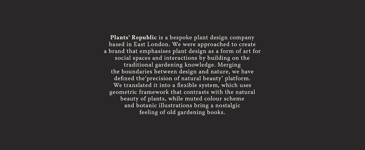 branding  logo plants Flowers identity design business card invoice