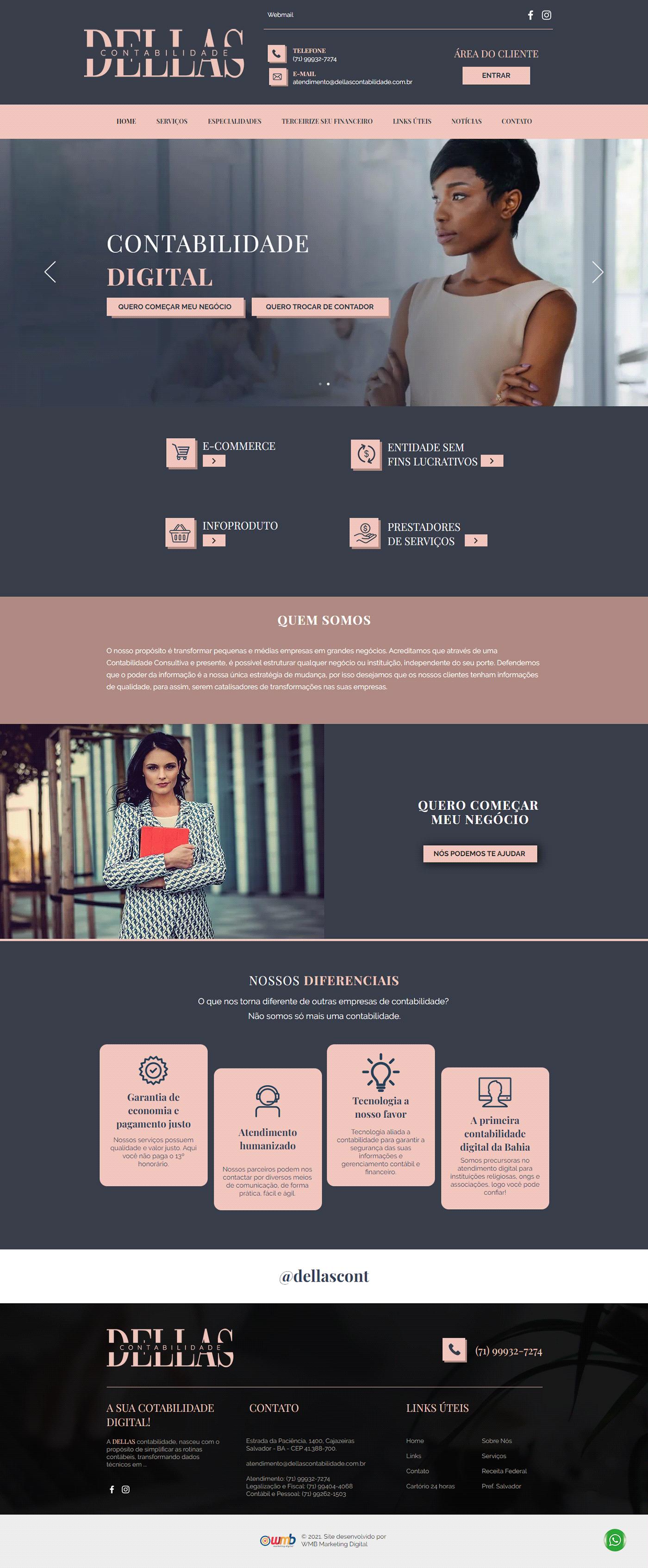 contabilidade contabilidade digital marketing   marketing digital site