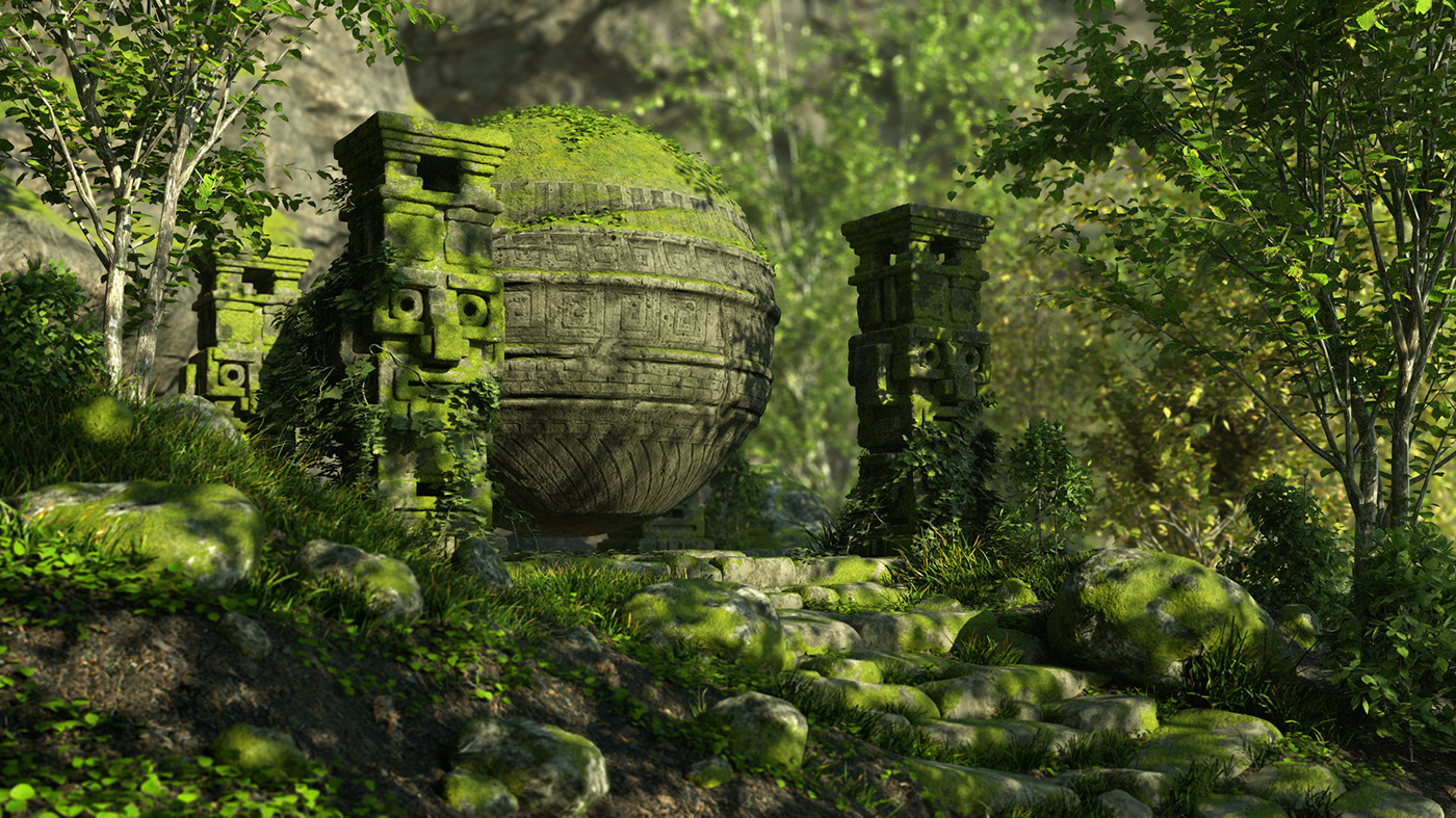 Ancient Orb on Behance