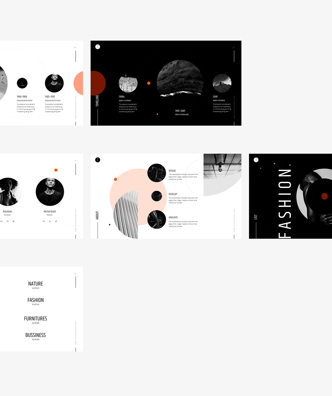 Powerpoint,Keynote,presentation,template,minimal,Web Design ,free,slide,portfolio,TRENDING