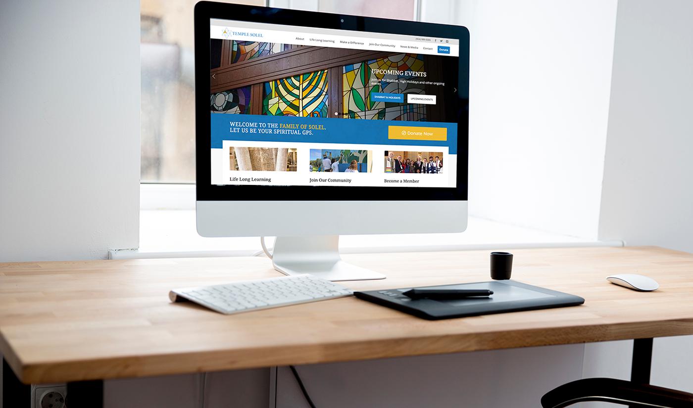 jewish non-profit Web Design