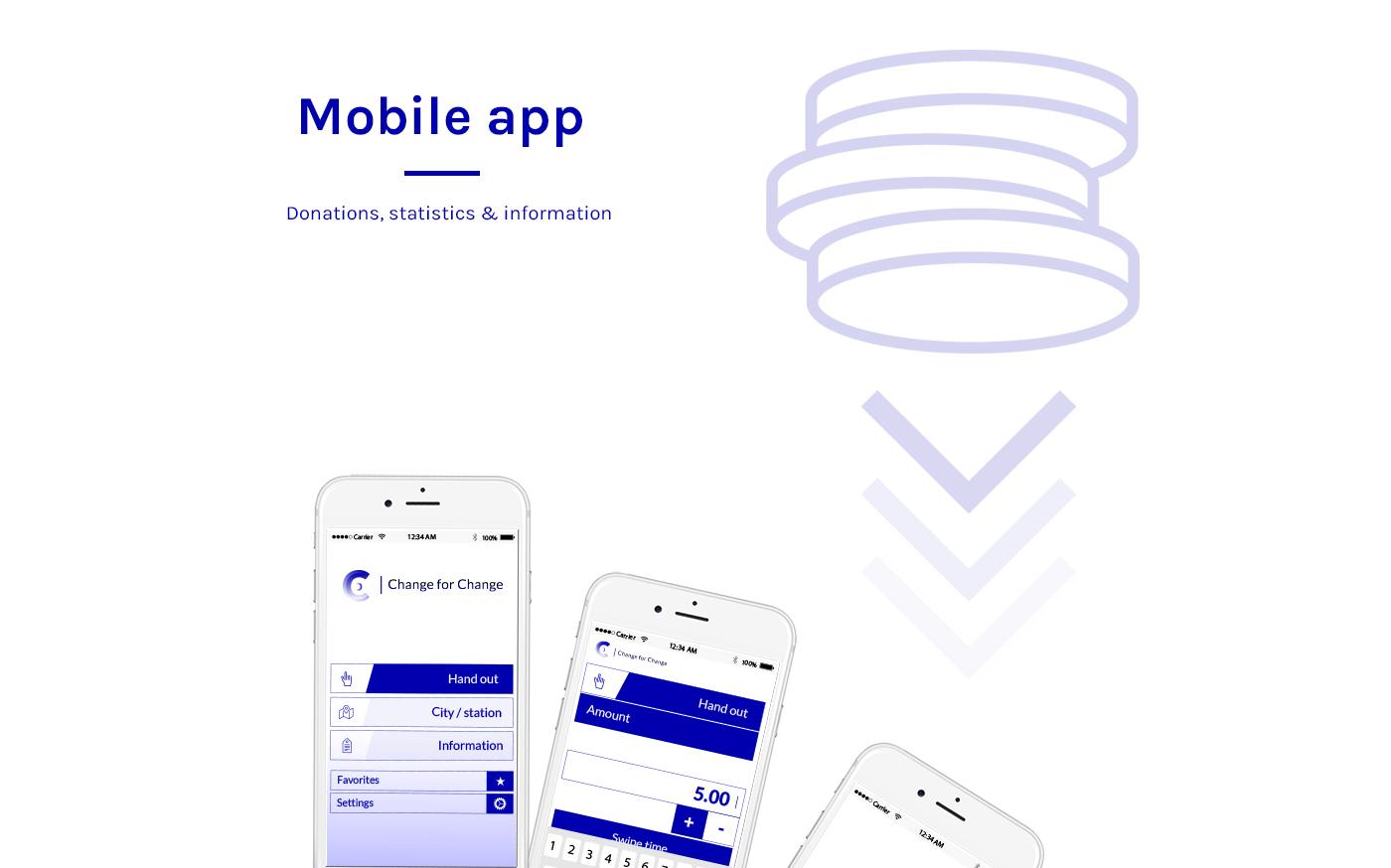 graphic design  application Web smartphone homeless help branding  brussels belgium