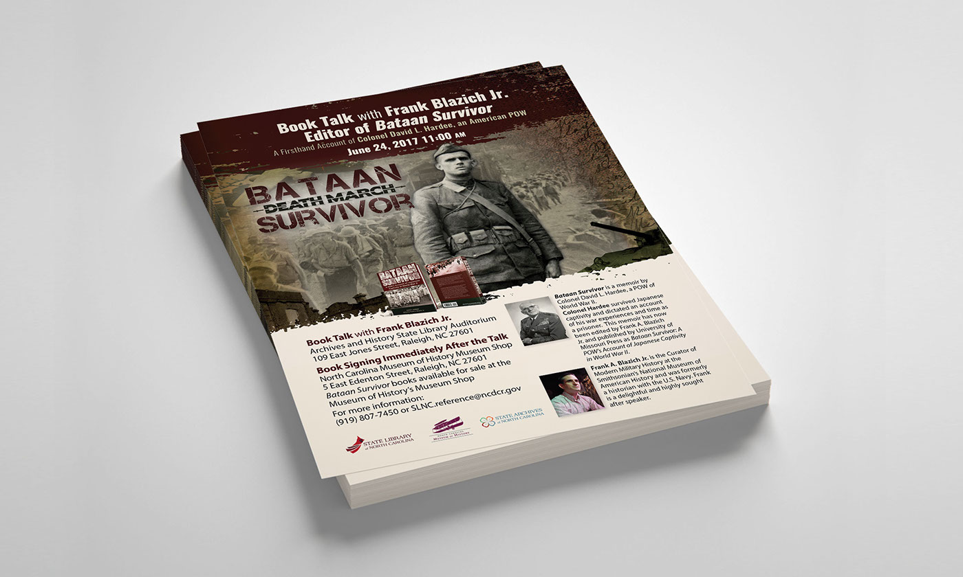 ww ii book event promotional items on behance
