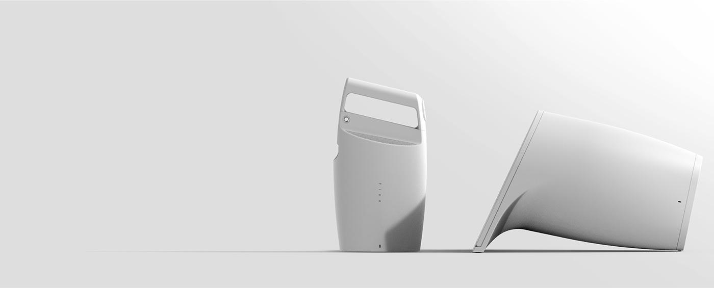 dryer Hair Dryer product design  industrial design  appliances beauty clean designerdot dot product