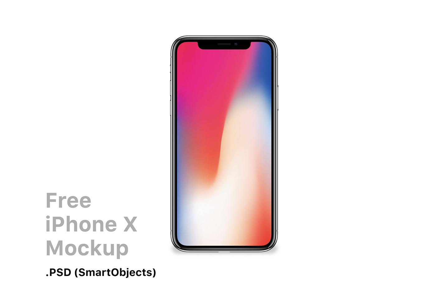 freebie mockups apple iphone8 Mockup iphone iphonex free