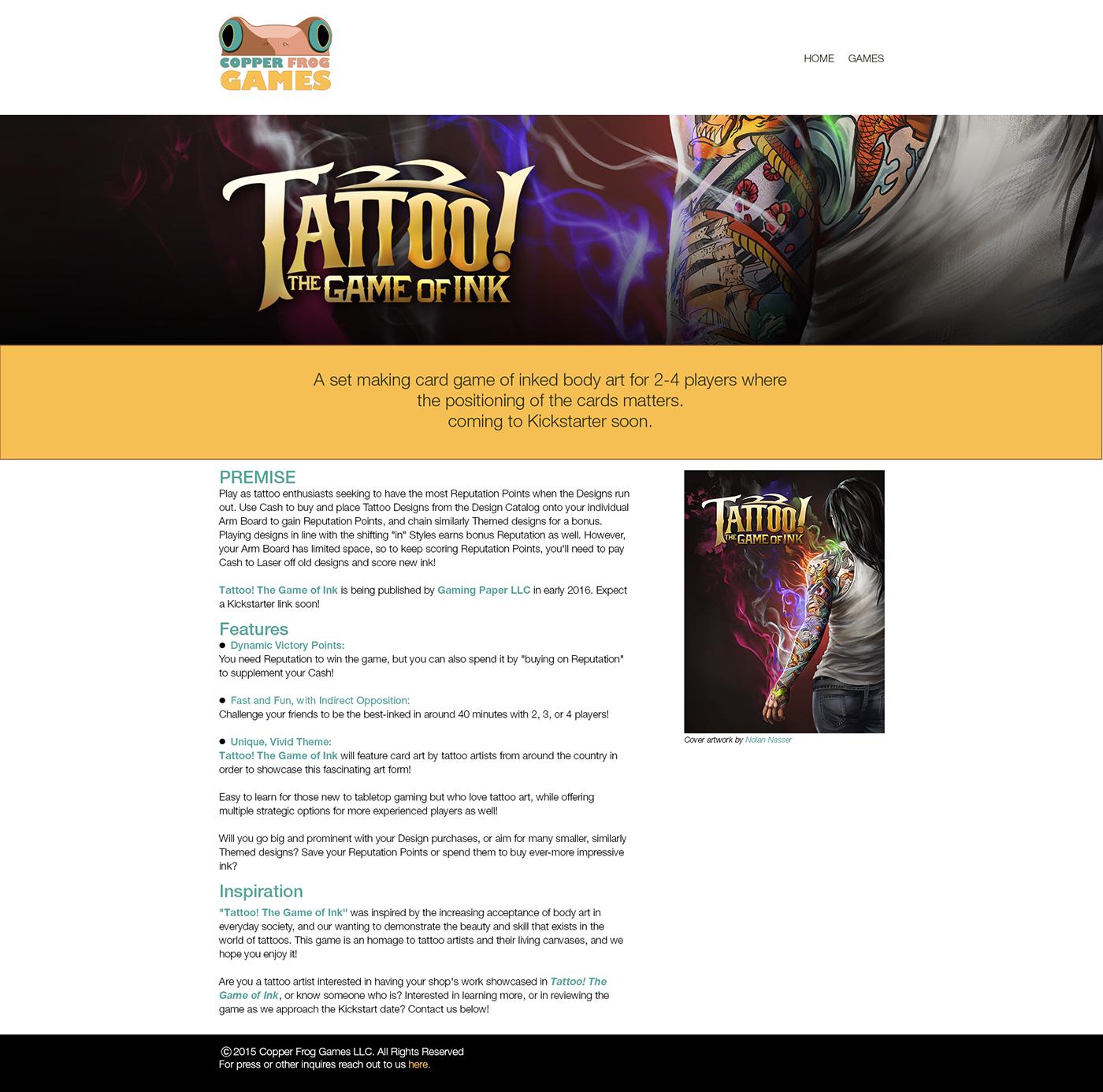 Website web deisgn Layout HTML css