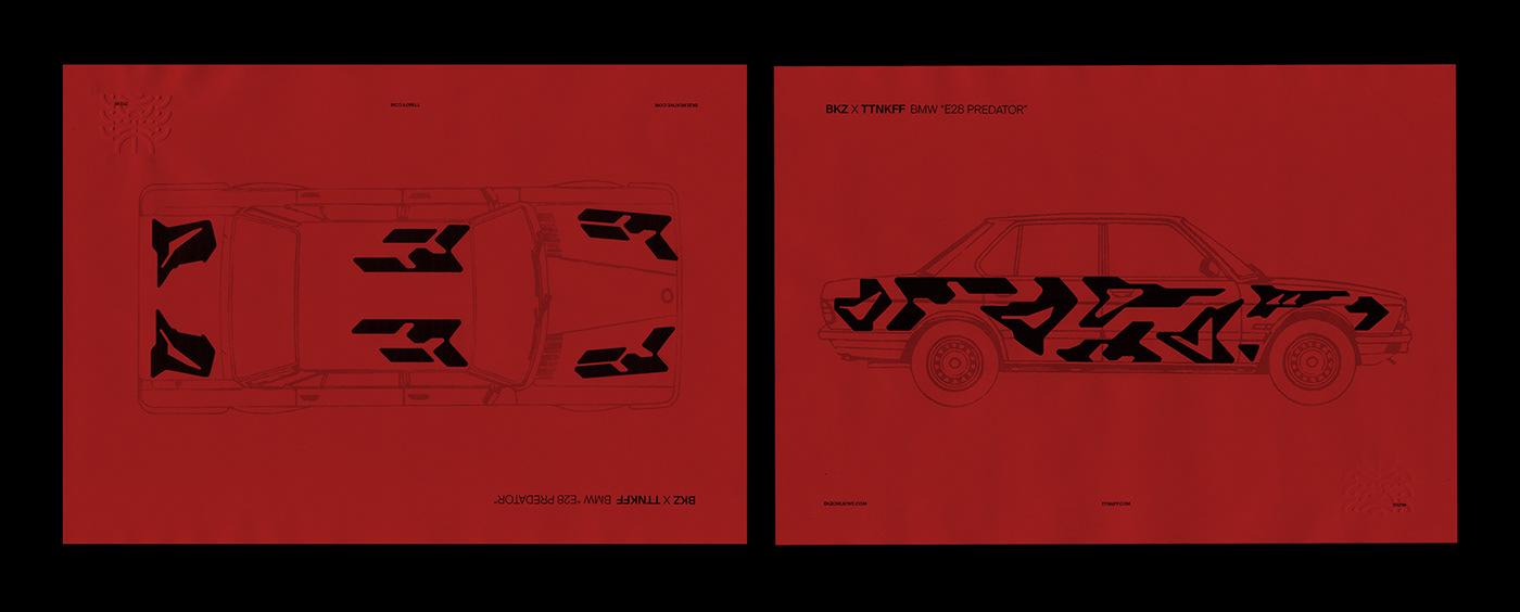 automotive   c4d car Collaboration maxon Octane Render race car bkzcreative E28 tiutiunikoff