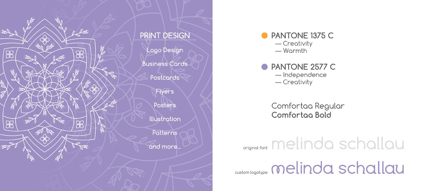 personal logo self branding deaf Graphic Designer